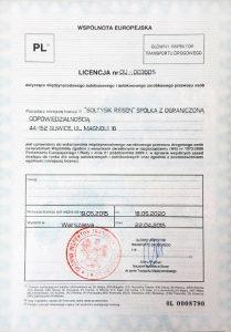 Soltysik reisen Soltysik-certyfikat-1
