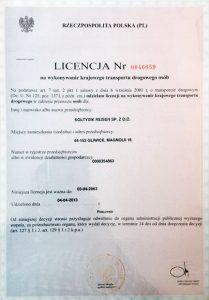 Soltysik reisen Soltysik-certyfikat-3